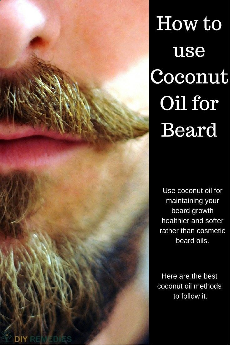 24 best moustaches and beards images on pinterest facial for Can i use coconut oil on my tattoo