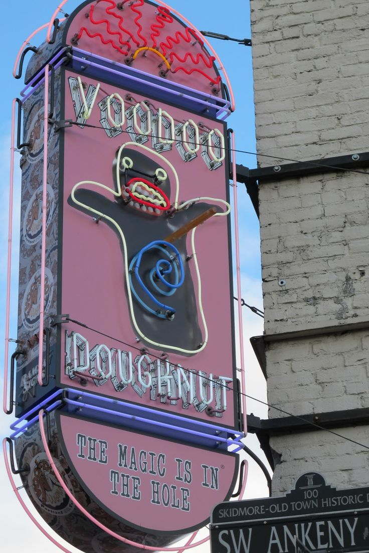 voodoo doughnuts The famed voodoo doughnut shop that hails from oregon is making its way to the east coast.