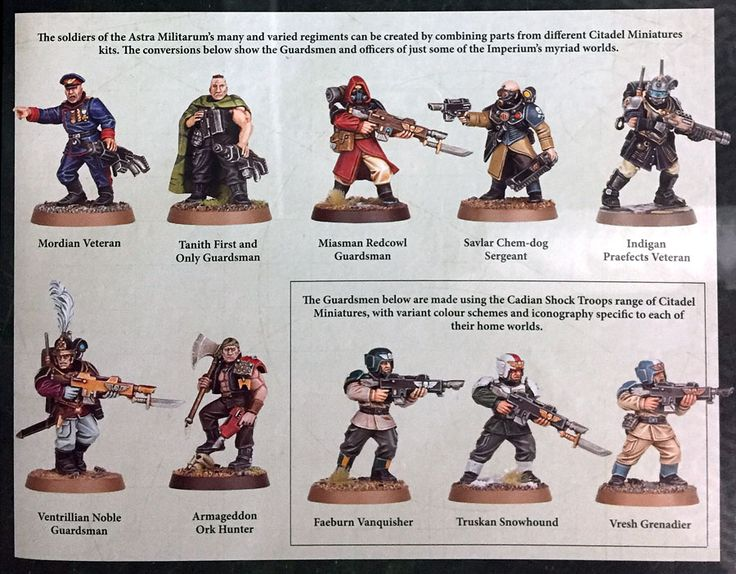 Lady Guardsmen and 4 Other Great Things in Codex AM - Bell of Lost Souls