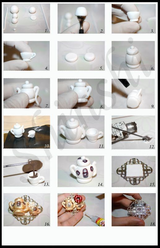 Making a tea set