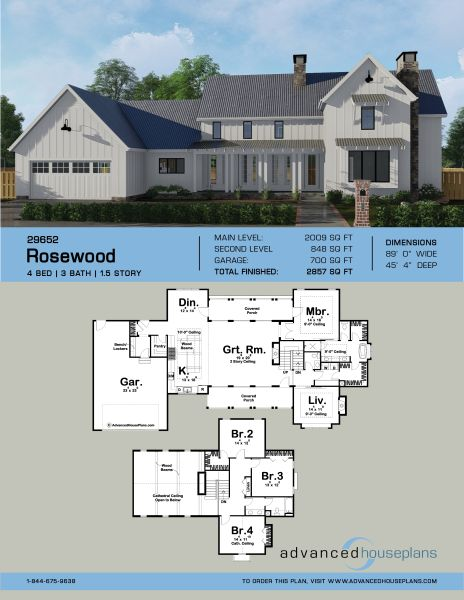 1.5 story house plan