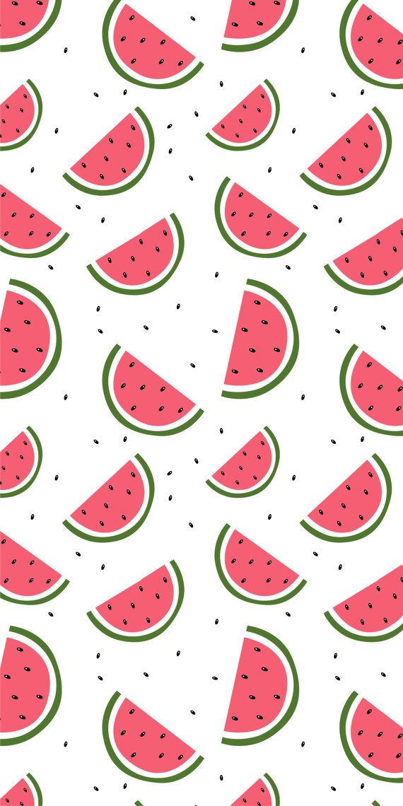 Self-adhesive Removable Wallpaper Watermelon by EazyWallpaper