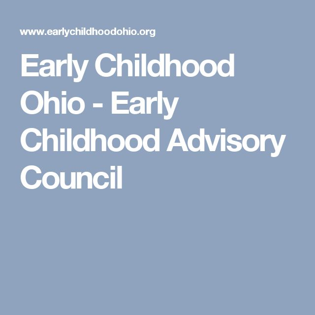 Early Childhood Ohio - Early Childhood Advisory Council