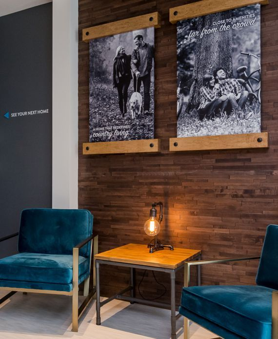 Distrikt Homes property development #showhome and presentation centre at Hyde Canyon in #LangleyBC #interiordesign #commercial #developer #homebuilder #distinktlydifferent #newhomeconstruction #showhomes #residential #realestate #LowerMainland #company Branding and web design by #Studiothink / Vancouver, BC #SurreyBC #branding #design #stationery #brochure #website #webdesign #creative #agency