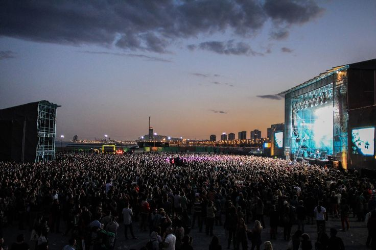 The main stage at Primavera Sound… amazing!!!