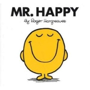 The Mr Men books by Roger Hargreaves were a big part of my childhood - I collected them and read and re-read the stories again and again!  In fact I'm sure I still have some of them!