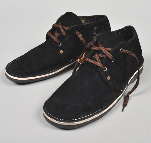 """""""Velskoen"""" Handmade Shoes, Black"""