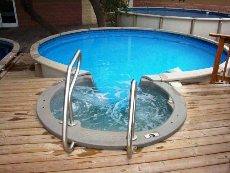 Take a look at the assortment of on-ground and above-ground swimming pools currently available and take the plunge if the price is right, or get a jump on next year's swim season! Description from abovegroundpoolcompany.com. I searched for this on bing.com/images