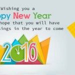 Happy New Year 2016 Cover Photos & FB Status Greetings
