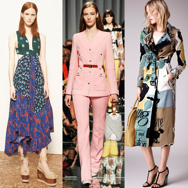 The Resort 2015 Trends To Wear Now | The Zoe Report -Stella McCartney on the left