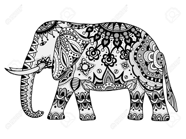Mejores 21 imágenes de Elephants en Pinterest   Elefantes, Dibujado ...