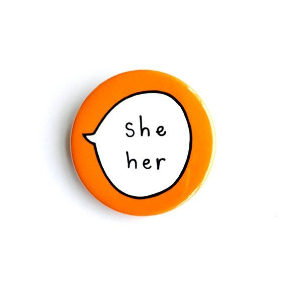 Edgy She Badge