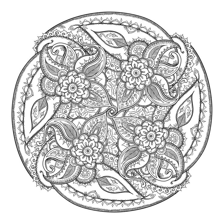 paisley Coloring pages - Bing Images: