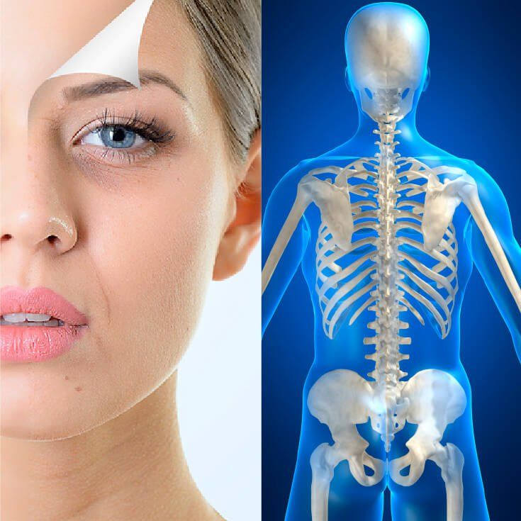 Do You Have Healthy Skin? If Not, You May Be Developing Bone Disease