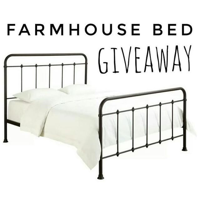 In Less Than 1 Minute You Can Be Entered To Win All This Farmhouse Bed Twin Full Or Queen By Following These Qui Pinterest