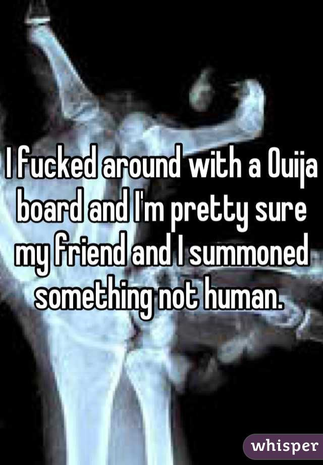 """<b>Whether you believe in the power of Ouija or not, these confessions are SCARY.</b> Based on anonymous <a href=""""http://go.redirectingat.com?id=74679X1524629&sref=https%3A%2F%2Fwww.buzzfeed.com%2Fkrystieyandoli%2Fcrazy-ouija-board-stories-that-will-completely-shock-you&url=http%3A%2F%2Fwhisper.sh%2F&xcust=3385042%7CBFLITE&xs=1"""" target=""""_blank"""">Whisper posts</a>."""