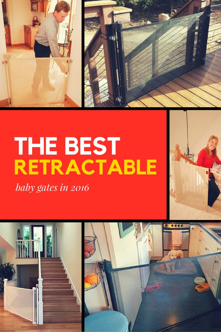 ~Best Retractable Baby Gates in 2016~ When the (door)way is straight and narrow...baby won't get by these heavenly gates!