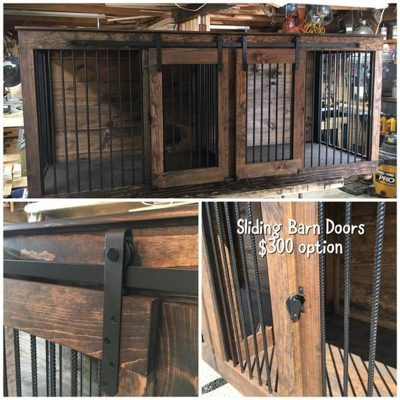 Single Barn Door Rolling Dog Kennel Gorgeous Sturdy Design Meant