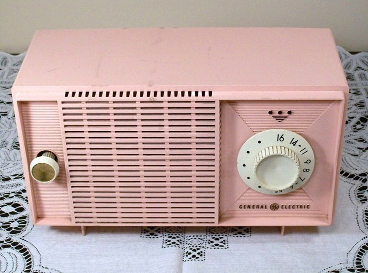 love pink...my radio looked a lot like this one...but, it had a clock too.