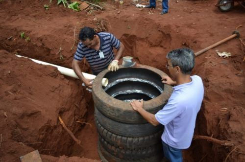 "Sustainable Septic Tank Made with Recycled Tires Homesteading  - The Homestead Survival .Com     ""Please Share This Pin"""