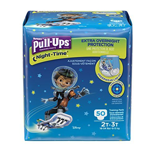 PullUps NightTime Training Pants for Boys 2T3T 50 Count Pack of 2 >>> Want additional info? Click on the image.