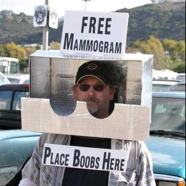 Redneck Mammogram. .                                                                                                                                                                                 More
