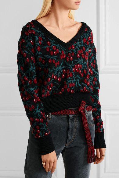 Étoile Isabel Marant - Carpet Woven Belt - Red - one size