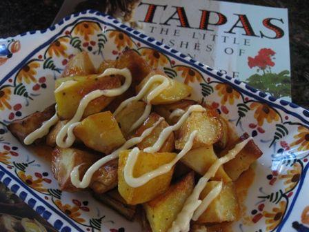 patatas bravas tapas recipe