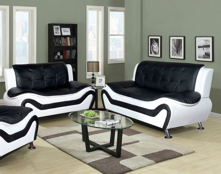 Best 25 leather sofa and loveseat ideas on pinterest - Leather sofa arrangement in living room ...