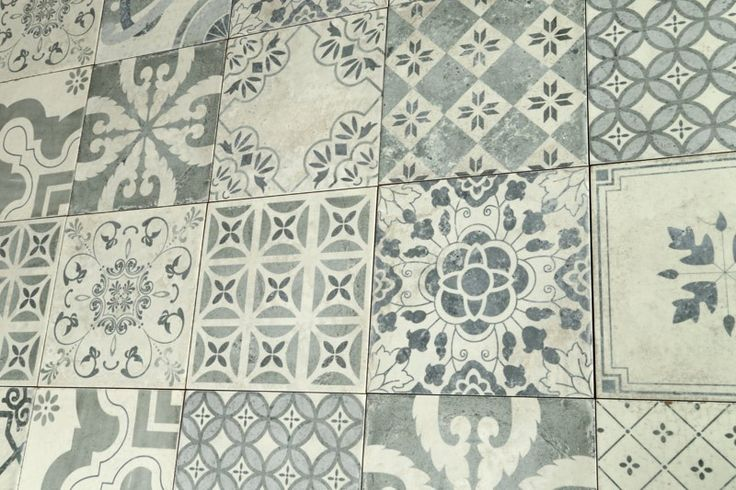 Parisian Chic Decor Mix Wall Tile 20x20cm - Parisian Chic - Vintage & Patterned - Tiles
