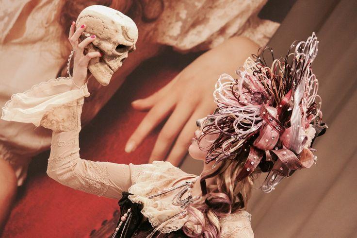 Sugar skull fantasy hair and beauty