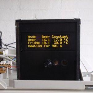 BrewPi is a fermentation controller made with a Raspberry Pi.