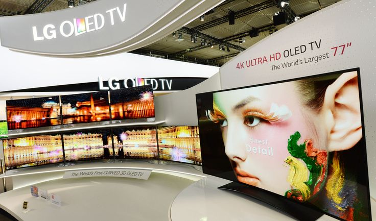LG Curved OLED TV from IFA2013