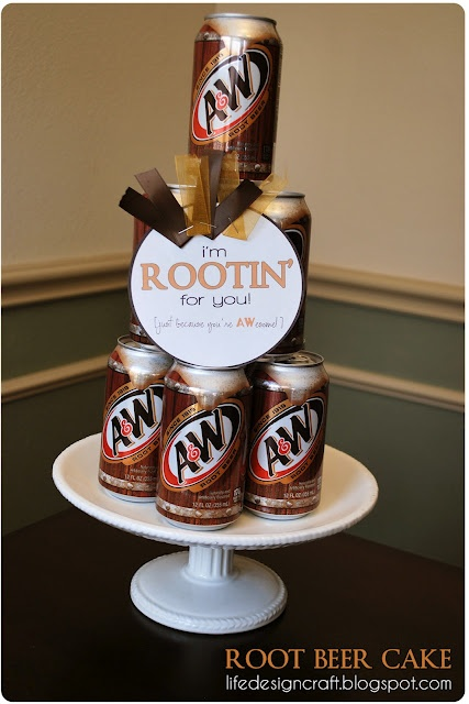 I'm Rootin For You! ~ fun new job gift idea