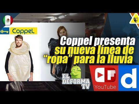 """21 Coppel presenta su nueva línea de """"ropa"""" para la lluvia"""