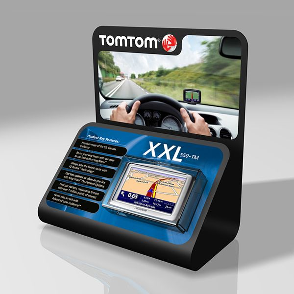 TomTom GPS + Wearable Technology Displays on Behance