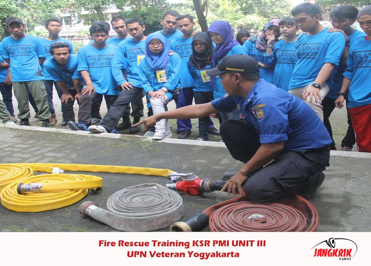 Fire Rescue Training - UPN Yogyakarta