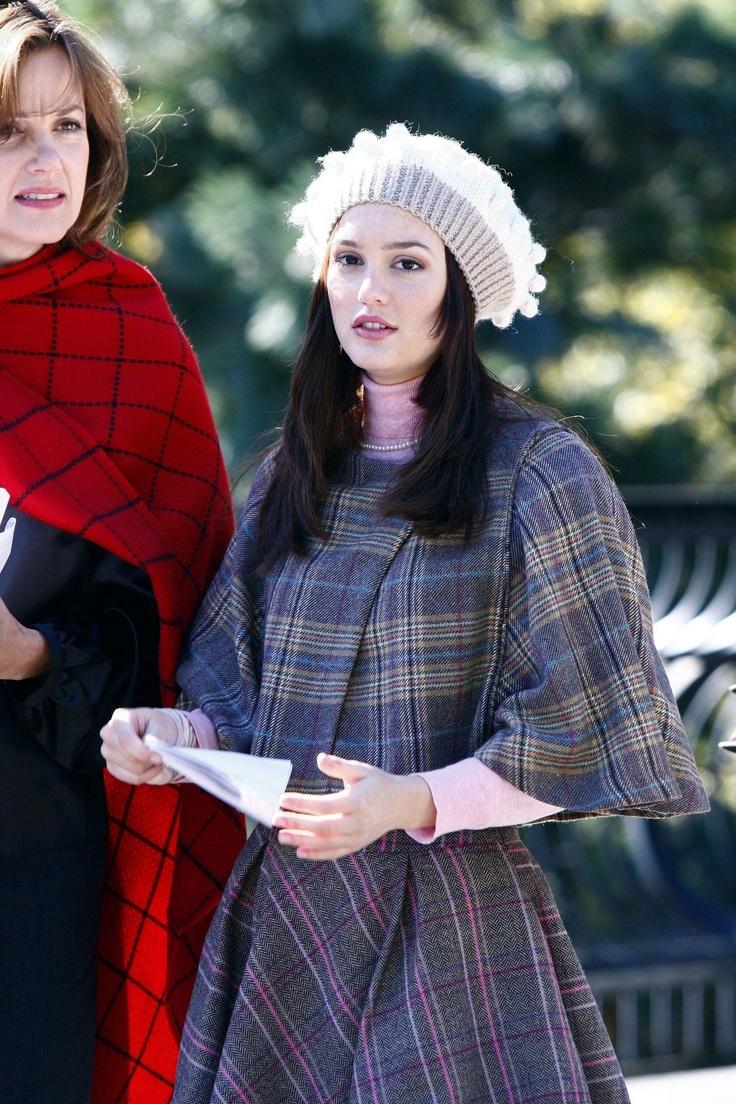 Fashion Gossip Seeing Stars This Fall Dolce Gabbana: Blair Waldorf In Zara (1.11 Roman Holiday)