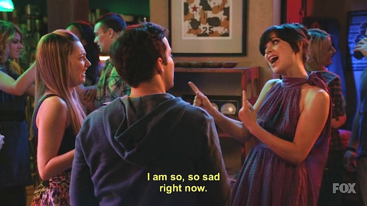 """weird party mood!"""