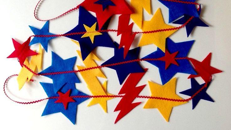 J'adore cette photo de @decofr ! Et vous ? (Source : http://www.deco.fr/photos/diaporama-20-diy-anniversaire-super-heros-d_3732)