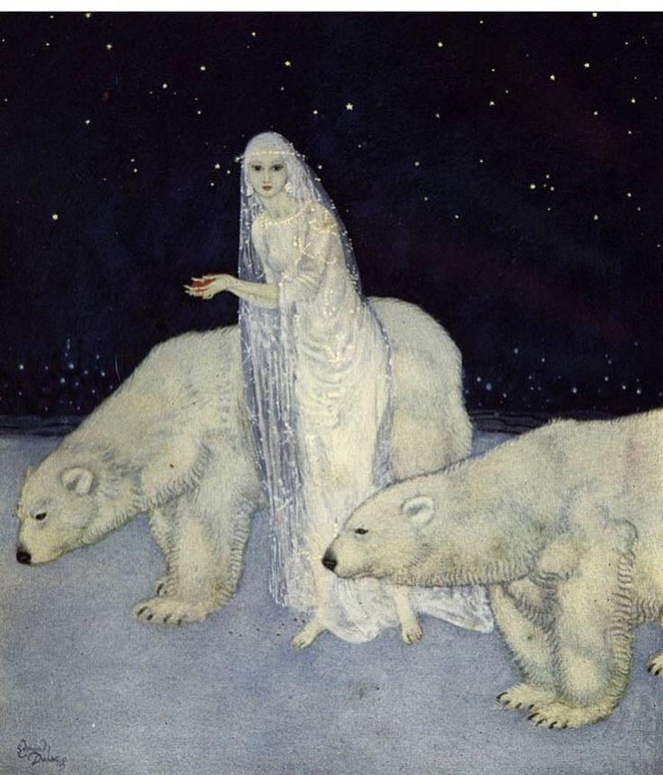 Edmund Dulac's Snow Maiden