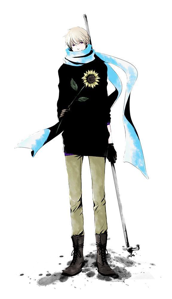 Hetalia - Russia (Ivan Braginski) I like this style of clothing on Ivan :)
