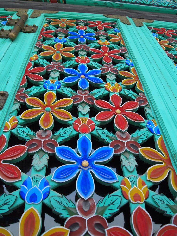 korean temple art - Google Search