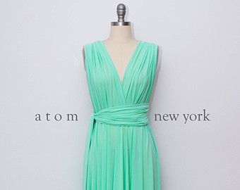 Specially Reserved for Becca 6 Mint Short Dresses by AtomAttire