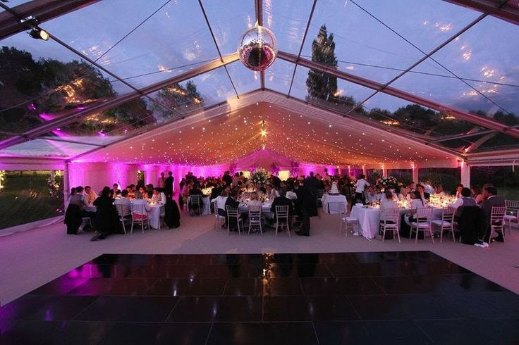 Curlew - SecondHand Marquees | Marquee componants for sale | 15m Clear PVC Roofs manufactured by Custom Covers for sale - Woking, Surrey
