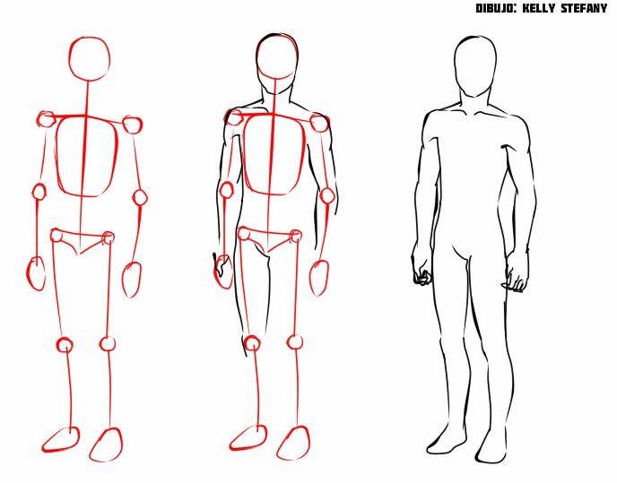 Aprende A Dibujar El Cuerpo Humano Con Este Sencillo Tutorial Como Dibujar Cuerpos Cuaderno De Dibujos De Bocetos Cuerpo Humano Dibujo