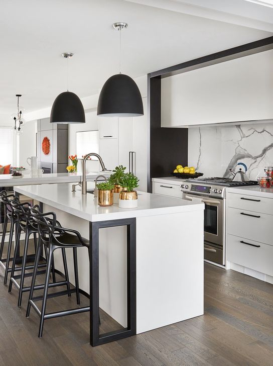You dont have to live in a gothic novel to bring this rich and versatile shade to your home here are 10 inspiring ways to use black to add modern drama