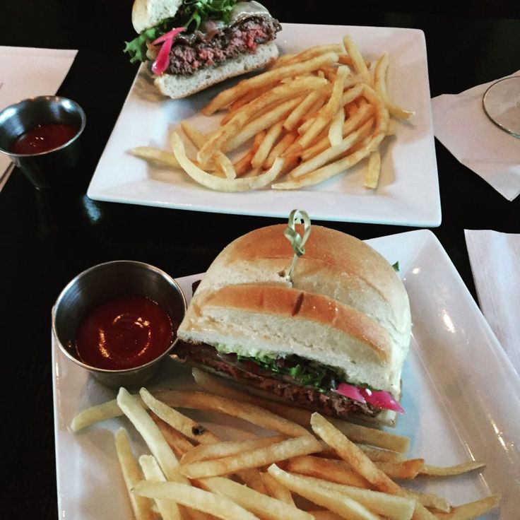The Crave Burger and Fries at Crave, Amesbury, MA. Oh So Good!