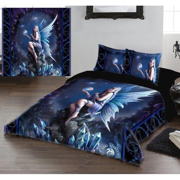 Anne Stokes Stargazer Gothic Fairy Double Duvet Set