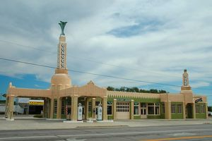 U-Drop Inn in Shamrock Texas